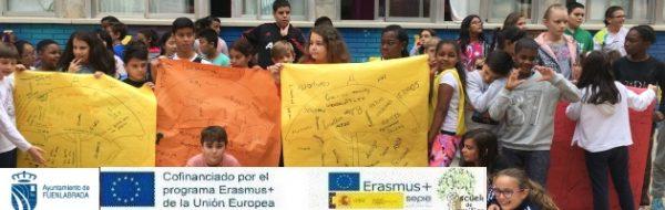 Campaña EnredArte Derechos Humanos y 'Escuela de Familias', proyectos unidos de la mano en el CEIP Antonio Machado
