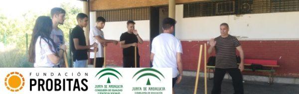 Fotos finales del curso MUS-E en el IES Domínguez Ortiz