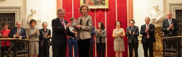 Su Majestad la Reina Doña Sofía acompaña a la Fundación Yehudi Menuhin España en la celebración de su XX aniversario