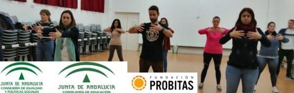 Taichi para formar a docentes en el CEIP Menéndez Pidal