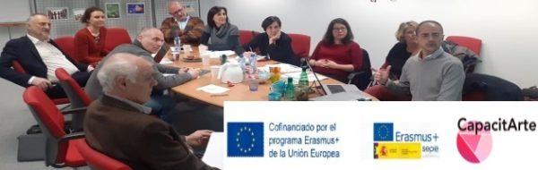 Presentación de nuevos Proyectos Erasmus+ en Bruselas: 'Capacitarte'