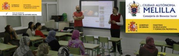IES Rusadir: sesión de madres y docentes