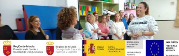 Buena participación en implicación en los talleres con docentes del CEIP San Cristóbal