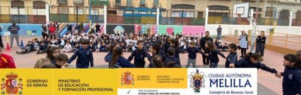Maribel Dimas, desde la Danza en el CEIP Mediterráneo, CEIP Reyes Católicos y CEIP España