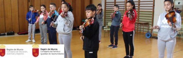 Violines MUS-E en el CEIP Barriomar 74
