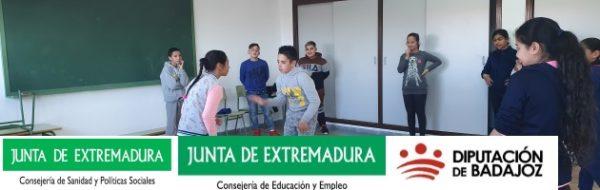 Danza: trabajamos en el Villanueva de la Serena y en el CRA La Cipea con alumnado y familias en el marco del Programa