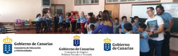 Fabuloso trabajo con familias y docentes en el CEIP Nieves Toledo