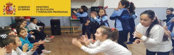 """""""Bonita unión entre niños y niñas"""", resumen perfecto de las sesiones de Danza en el CEIP Lope de Vega"""