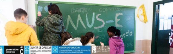 Ambiente distendido y entusiasmo del alumnado, algunos de los grandes retazos del MUS-E en el CEIP Raquel Camacho