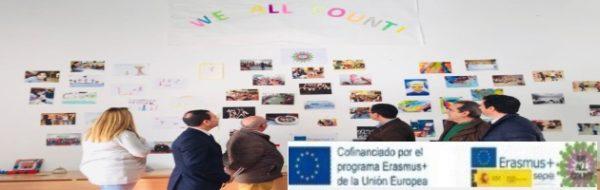 'We All Count': Exposición el CRA Río Tajo-José Manuel Oviedo, que demuestra la implicación de todo el centro en el proyecto