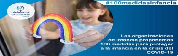 Las organizaciones de infancia proponemos 100 medidas para proteger a niños, niñas y adolescentes ante la crisis del #COVID19