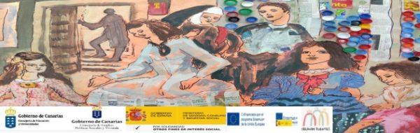 Proyecto Erasmus +'Creando Puentes: 'Las Meninas', en la jornada de puertas abiertas y de talleres con familias en el CEO La Pared