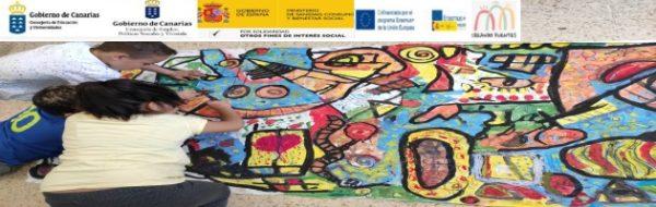 Proyecto Erasmus +'Creando Puentes': el trabajo de los y de las peques en el CEO La Pared