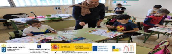 Proyecto Erasmus +: 'Creando Puentes': turno para el alumnado de Primaria y su cita con el arte y la cultura en el CEO La Pared