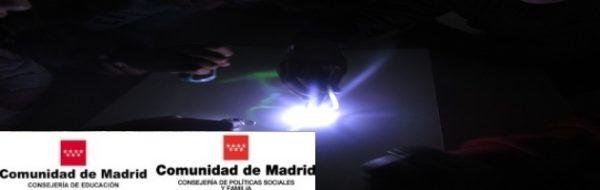 CEIP Vicálvaro: juegos de luz y de sensaciones