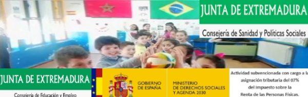 Extremadura, al ritmo de la Capoeira en el CEIP Francisco de Parras y el CEIP Gonzalo Encabo