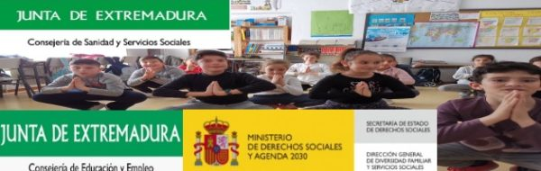 Seguimos con el Yoga por Extremadura: ahora, el CRA La Raya