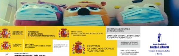 CEIP San Ildefonso: los profes y las profes también se apuntan al Arte contra el coronavirus: 'El misterio del coronavirus'