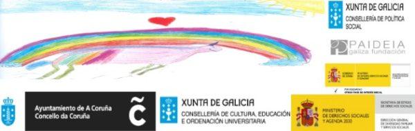 Tod@s pintamos, también en Galicia: Enred-Arte y Solidariz-Arte