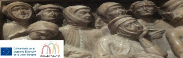 Proyecto Erasmus + 'Creando Puentes': descubriendo el Museo Medieval Cívico de Bolonia con el historiador de Arte Paolo Cova
