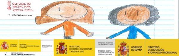Las niñas y niños no paran de Solidariz-Arte y de Enre-Arte. Tod@s Pintamos también en la Comunidad Valenciana