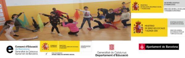 Escola Joan Maragall: la artista MUS-E de Danza Gloria Sardá explora lo realizado antes del confinamiento
