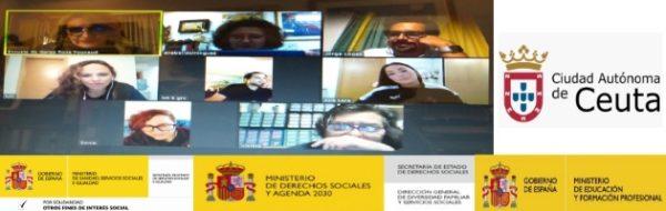 Nos ajustamos a las circunstancias: reunión virtual con los y las artistas de Ceuta