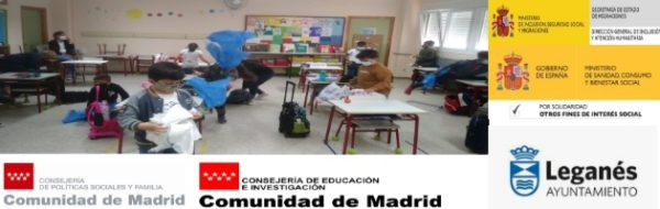 Malabares, mascarillas y distancia: todo sigue en el CEIP Concepción Arenal