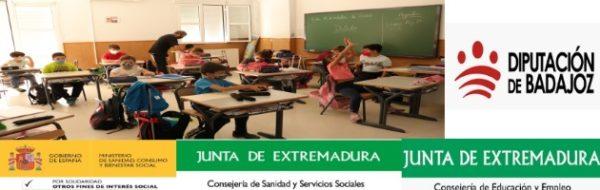 Reunión online: el CEIP Félix Santana y la adaptación a las circunstancias