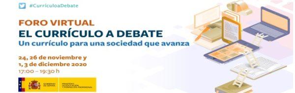 El centro MUS-E: IESO Harévolar (Guadalajara) participa en el foro virtual 'El currículo a debate', organizado por el Ministerio de Educación y Formación Profesional