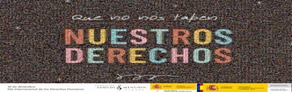 Día Internacional de los Derechos Humanos: 'Que no nos tapen nuestros derechos'