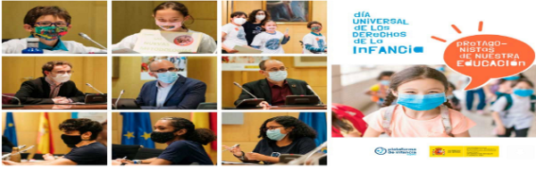 Plataforma de Infancia: actividades en el marco del Día Universal de los Derechos de la Infancia