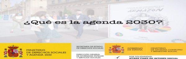 ¿Qué es la Agenda 2030? Voluntarios/as del Programa Enred-Arte y Solidariz-Arte nos lo explican