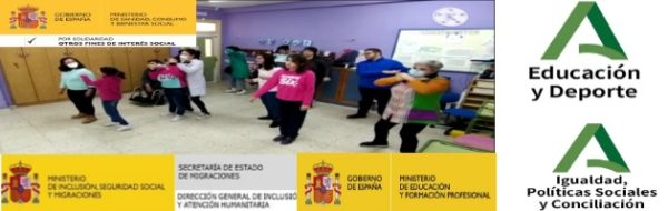 'Arte contra el coronavirus': porque tod@s contamos, tod@s participamos, tod@s creamos: Danza Online en el CEEE Virgen del Amparo, con Macarena Conde