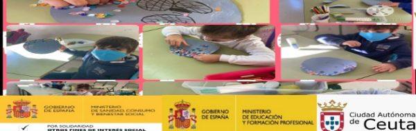 Creando personajes en el CEIP Reina Sofía