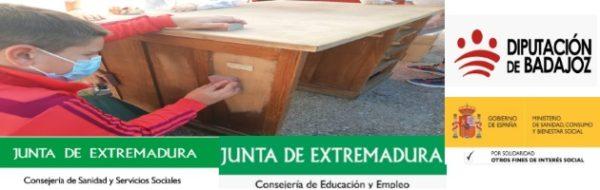 Embellecemos lo viejo y aprendemos a reciclar en el CEIP San Pedro Alcántara, de la mano de Gamero Gil
