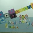 El Violín de Yehudi, utilizando la Magia de los Colores, pintado por las niñas y niños de 1º, 2º y 3º de Primaria del CEIP Adolfo de Castro, de Cádiz. Enviado por Beatriz Jurado.