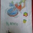 Violín por la Paz de 1º del CEIP Lope de Vega de Leganés. Enviados por Rosa Castillo.
