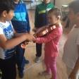 Violín por la Paz con las niñas y niños del CEIP El Cristo de Villanueva de la Serena, Badajoz. Enviado por Cinthia Pérez.