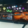 Marina Álvarez: violín de una alumna