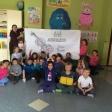 Violín por la Paz viajero, con los niños y niñas de 1º del CEIP Miguel Hernández de Leganés.