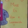 Exposición Violines por la Paz en el CEIP San Cirstóbal de Lorca
