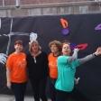 Violín por la Paz de las profes de la Escola Eduard Marquina de Barcelona